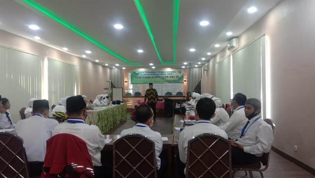 Kepala BDK Padang Berikan Materi PDWK Guru PAI Kemenag Tanah Datar